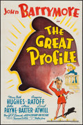 "Movie Posters:Comedy, The Great Profile (20th Century Fox, 1940). One Sheet (27"" X 41"").Comedy.. ..."