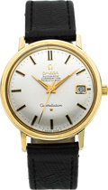 Timepieces:Wristwatch, Omega Ref. 168.004/14 Gold Constellation Automatic Chronometer, circa 1975. ...