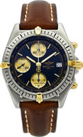 Timepieces:Wristwatch, Breitling Ref. 81950 Steel & Gold Automatic Chronomat. ...