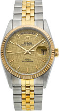 Timepieces:Wristwatch, Tudor Ref. 9461 Gent's Two Tone Oyster Prince Day-Date. ...