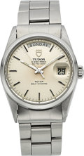 Timepieces:Wristwatch, Tudor Ref. 9450 Steel Oyster Prince Day-Date Automatic. ...