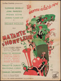 """Movie Posters:Foreign, Ma Tante d'Hofleur (Les Films Lutetia, 1949). French Affiche (23.5"""" X 31.5""""). Foreign.. ..."""