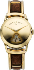Timepieces:Wristwatch, Lord Elgin Direct Read Wristwatch. ...