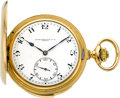 Timepieces:Pocket (post 1900), Patek Philippe & Cie Very Fine Gold Minute Repeater, circa1910. ...