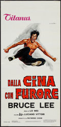 """Movie Posters:Action, The Chinese Connection (Titanus, R-1970s). Italian Locandina (13"""" X 27.5""""). Action.. ..."""
