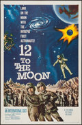 "Movie Posters:Science Fiction, 12 to the Moon (Columbia, 1960). One Sheet (27"" X 41""). ScienceFiction.. ..."