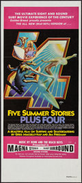 "Movie Posters:Documentary, Five Summer Stories (Associated Screen Arts, 1972). Australian Daybill (13.25"" X 29.75""). Documentary.. ..."