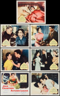 """Movie Posters:Drama, Autumn Leaves (Columbia, 1956). Lobby Cards (7) (11"""" X 14""""). Drama.. ... (Total: 7 Items)"""