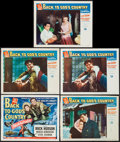 """Movie Posters:Action, Back to God's Country (Universal International, 1953). Title Lobby Card & Lobby Cards (4) (11"""" X 14""""). Action.. ... (Total: 5 Items)"""