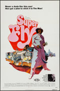 "Movie Posters:Blaxploitation, Super Fly (Warner Brothers, 1972). One Sheet (27"" X 41"") & MiniLobby Cards (6) (8"" X 10""). Blaxploitation.. ... (Total: 7 Items)"