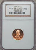 Proof Lincoln Cents, 1988-S 1C PR70 Red Ultra Cameo NGC. NGC Census: (0). PCGS Population (0)....