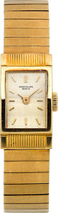Timepieces:Wristwatch, Patek Philippe Ref. 3250 Lady's Gold Wristwatch, circa 1960. ...