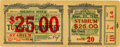 """Boxing Collectibles:Memorabilia, 1927 Jack Dempsey vs. Gene Tunney """"Long Count"""" Bout Full Ticket...."""