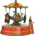 Antiques:Toys, Merry-Go-Round Mechanical Bank...