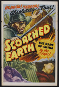 "Movie Posters:War, Scorched Earth (MGM, 1942). One Sheet (27"" X 41""). War. ..."