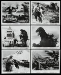 "Movie Posters:Science Fiction, King Kong vs. Godzilla (Universal International, 1963). Stills (6)(8"" X 10""). Science Fiction. ... (Total: 6 Items)"
