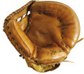 Baseball Collectibles:Others, Early 1960's Yogi Berra Game Worn Catcher's Mitt. As tough as Hallof Fame jerseys are to locate and acquire, the game used...