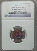 Proof Indian Cents, 1890 1C -- Altered Color -- NGC Details. Proof. NGC Census: (0/63). PCGS Population (0/44). Mintage: 2,740. Numismedia Wsl....