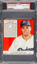 Baseball Cards:Singles (1950-1959), 1952 Red Man Pee Wee Reese #17 PSA NM-MT 8....