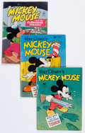 Golden Age (1938-1955):Cartoon Character, Mickey Mouse Group (Dell, 1943-) Condition: Average GD+.... (Total:29 Comic Books)
