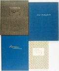 Books:Music & Sheet Music, [Music.] Group of Four Books of Music Commentary. Various publishers and dates. Three in German.... (Total: 4 Items)