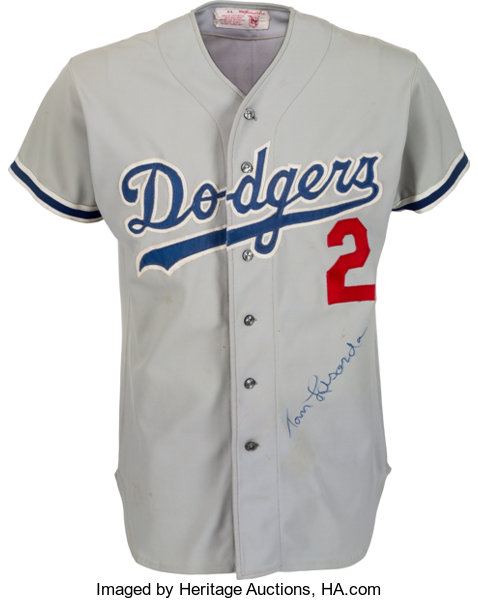 promo code 7957a b87d0 Circa 1980 Los Angeles Dodgers Game Worn Jersey Attributed ...