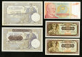 World Currency: , A Quintet of Notes from Yugoslavia and Serbia.. ... (Total: 5 notes)