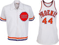 Basketball Collectibles:Uniforms, Late 1970's Paul Westphal Game Worn Phoenix Suns Jersey and Warm UpJacket....