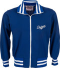 Baseball Collectibles:Uniforms, 1980's Sandy Koufax Game Worn Los Angeles Dodgers Coaching Jacket....