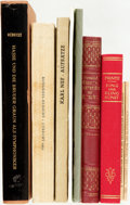 Books:Music & Sheet Music, [Music.] Group of Nine German Books about Music. Various publishers and dates.... (Total: 9 Items)