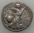 Ancients:Oriental, Ancients: SASANIAN KINGDOM. Varhran IV (AD 388-399). AR drachm (4.01 gm)....
