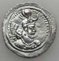 Ancients:Oriental, Ancients: SASANIAN KINGDOM. Yazdgird I (AD 399-420). AR drachm (4.34 gm)....