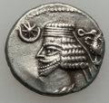 Ancients:Oriental, Ancients: PARTHIAN KINGDOM. Lot of two AR drachms of Phraates IV (38/7-32 BC).... (Total: 2 coins)