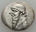 Ancients:Oriental, Ancients: PARTHIAN KINGDOM. Mithradates II (121-91 BC). AR drachm (3.84 gm)....