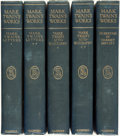 Books:Literature Pre-1900, [Featured Lot]. [Mark Twain]. LIMITED EDITION. Stormfield Edition of the Writings of Mark Twain, Vols. I-XXXVII. ... (Total: 37 Items)