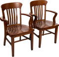 Antiques:Decorative Americana, Pennsylvania Courthouse Chairs.... (Total: 2 Items)