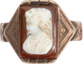 Antiques:Decorative Americana, Charles Dickens: Personally-owned Ring.... (Total: 4 Items)