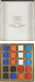 Baseball Cards:Sets, 1962 Salada-Junket Baseball Coins Complete Set (200) In OriginalPresentation Box. ...
