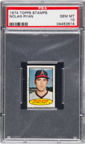 Baseball Cards:Singles (1970-Now), 1974 Topps Stamps Nolan Ryan # PSA Gem Mint 10 - Pop Two!...