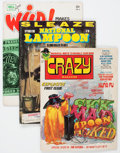 Magazines:Miscellaneous, Assorted Magazines Box Lot (Various Publishers, 1960s-'80s)Condition: Average FN/VF....