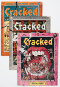 Magazines:Humor, Cracked Box Lot (All-American, 1958-74) Condition: Average FN....