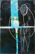 Prints, JULIAN SCHNABEL (American, 1951). Mother, 1985. Etching and aquatint, in two pieces. 71-3/4 x 47 inches (182.1 x 119.4 c...