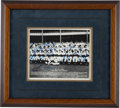 Baseball Collectibles:Photos, 1955 New York Yankees Team Signed Photograph....