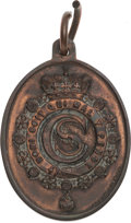 Golf Collectibles:Miscellaneous, 1889 Royal Western India Golf Medal....