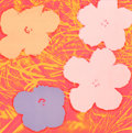 Post-War & Contemporary:Pop, ANDY WARHOL (American, 1928-1987). Flowers, 1970.Screenprint in colors. 36 x 36 inches (91.4 x 91.4 cm). Ed.196/250. S...
