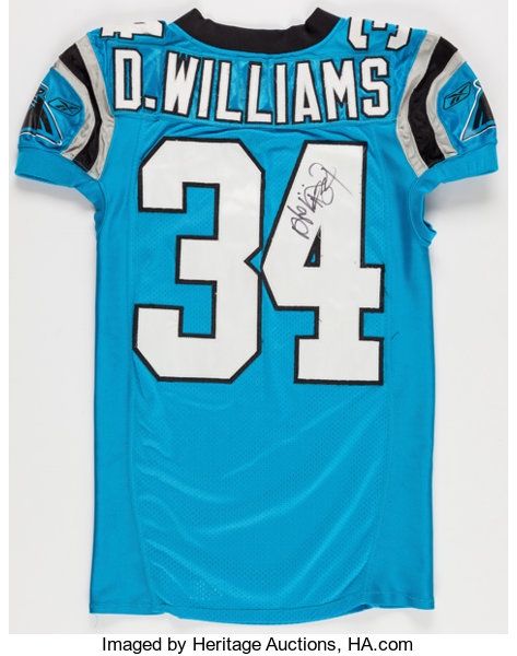 finest selection 49c73 29fb1 2006 DeAngelo Williams Game Worn, Unwashed and Signed ...