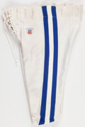 Football Collectibles:Others, 2002 Dwight Freeney Game Worn Indianapolis Colts Pants....