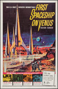 """Movie Posters:Science Fiction, First Spaceship on Venus (Crown International, 1962). One Sheet(27"""" X 41""""). Science Fiction.. ..."""