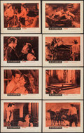 "Movie Posters:Western, The Left Handed Gun (Warner Brothers, 1958). Lobby Card Set of 8 (11"" X 14""). Western.. ... (Total: 8 Items)"