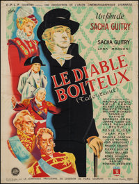 """The Lame Devil (CPLF (Gaumont), 1948). French Grande (46"""" X 61""""). Foreign"""
